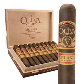 OLIVA FAMILY CIGARS OLIVA V MELANIO MADURO TORPEDO 10ct. BOX