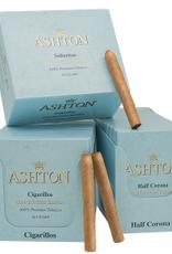 Ashton ASHTON CONNECTICUT BLUE HALF CORONA SINGLE