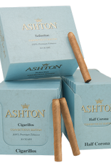 Ashton Distributors ASHTON CONNECTICUT BLUE HALF CORONA SINGLE