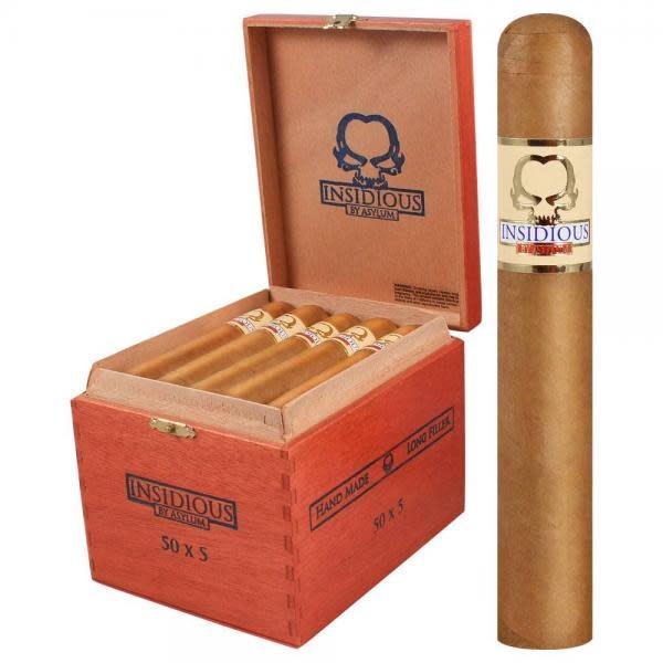 Asylum Cigars ASYLUM INSIDIOUS 44x6 single