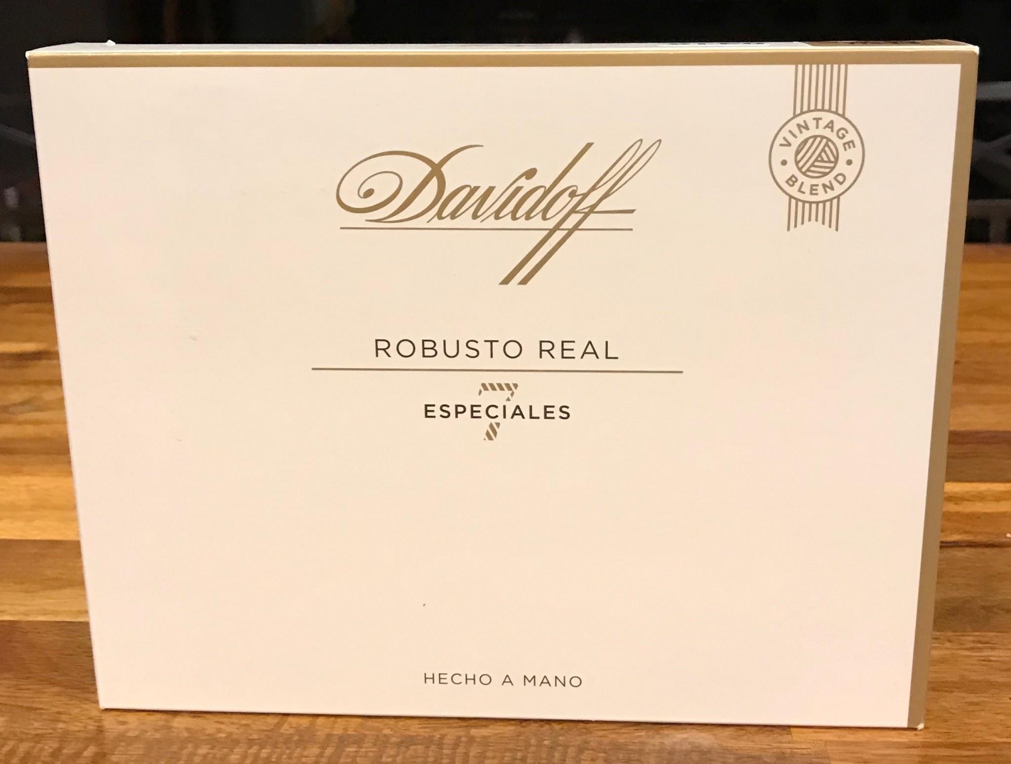 DAVIDOFF OF GENEVA DAVIDOFF LIMITED EDITION LE 2019 ROBUSTO REAL ESPECIALES 7 single