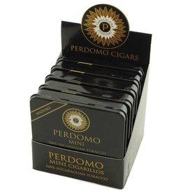 PERDOMO PERDOMO MINI CIGARILLOS MADURO TIN BOX 5CT.