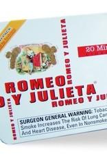 Romeo y Julieta RYJ WHITE FRESH PACK MINI BOX