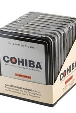 Cohiba COHIBA Red Dot MINIATURES TIN 10ct. BOX
