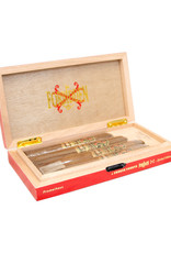 THE OPUS X STORY 4CT. Cigars + Red Humidor BOX