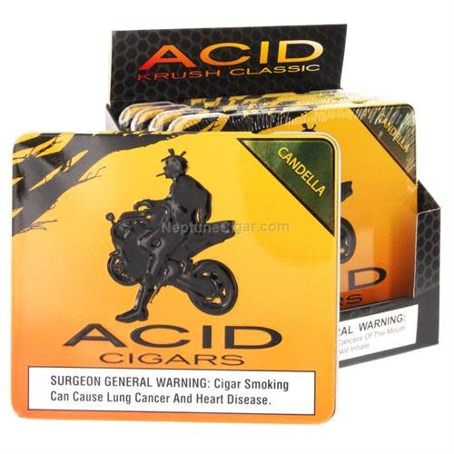 ACID ACID CRUSH GREEN CANDELA 10CT. TIN single