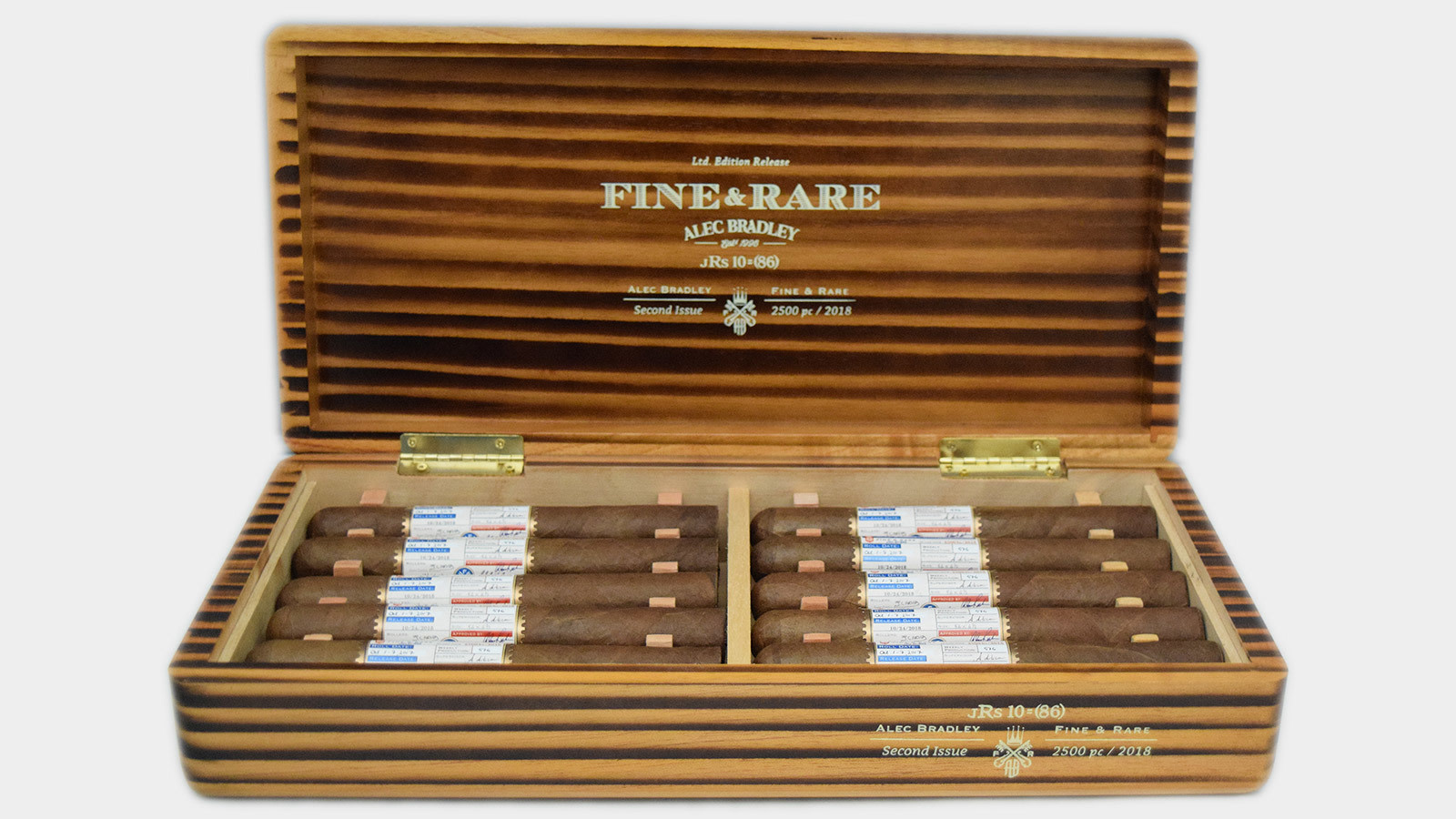 Alec Bradley ALEC BRADLEY FINE AND RARE 2019 6.25x54 10ct. Box