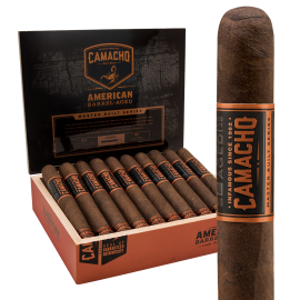 CAMACHO CAMACHO AMERICAN BARREL AGED ROBUSTO 20CT. BOX