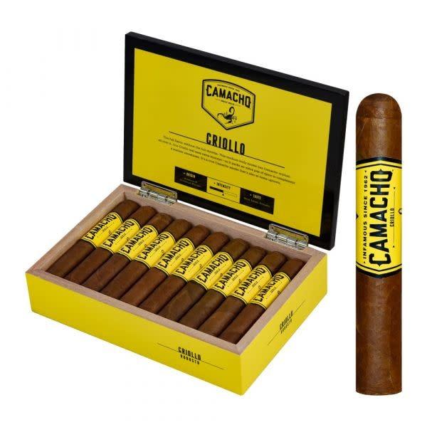 CAMACHO CAMACHO CRIOLLO ROBUSTO 20CT BOX