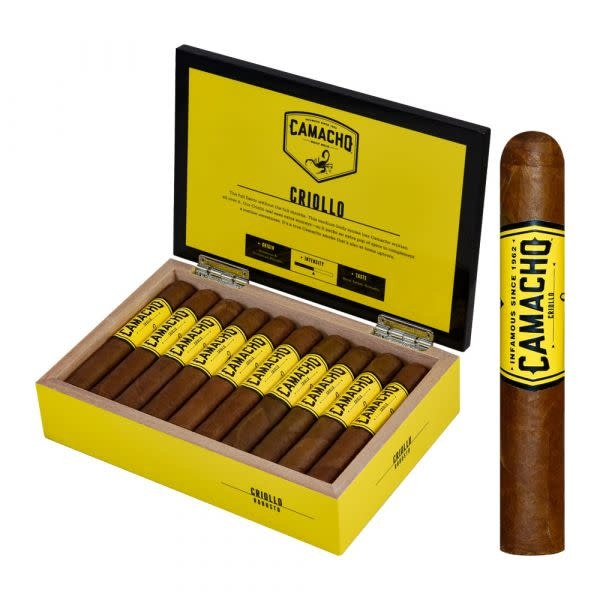 CAMACHO CAMACHO CRIOLLO TORO 20CT BOX
