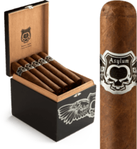 Asylum Cigars ASYLUM NYCTOPHILIA MADURO 70X7 24ct. BOX