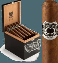 Asylum Cigars ASYLUM NYCTOPHILIA MADURO 50X5 20ct. BOX