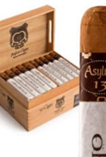 Asylum Cigars ASYLUM MEDULLA OBLONGATA MADURO 52X6 BOX PRESS single