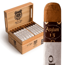 Asylum Cigars ASYLUM MEDULLA OBLONGATA MADURO 52X6 BOX PRESS single