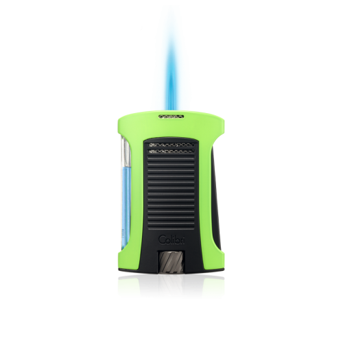COLIBRI COLIBRI DAYTONA SINGLE JET LIGHTER BLUE+BLACK LI770T5