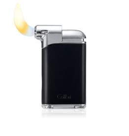 COLIBRI COLIBRI PACIFIC AIR PIPE LIGHTER LI400C5 CHROME BLACK