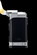 COLIBRI COLIBRI PACIFIC AIR PIPE LIGHER LI400C8 GUNMETAL BLACK