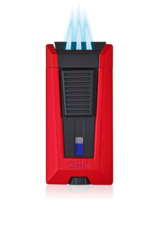 COLIBRI COLIBRI STEALTH 3 TRIPLE JET LIGHTER LI900T4 BLUE BLACK