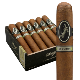 DAVIDOFF OF GENEVA DAVIDOFF ESCURIO PETITE ROBUSTO CELLO 4CT. PACK