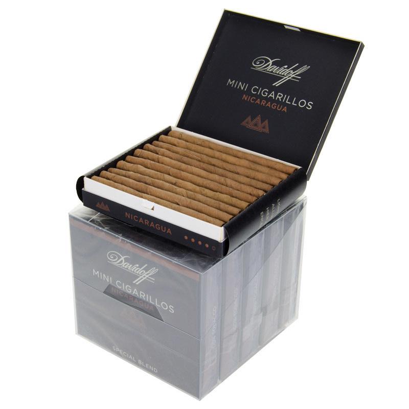 DAVIDOFF OF GENEVA DAVIDOFF NICARAGUA MINI CIGARILLOS PACK 5CT. BOX