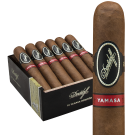 DAVIDOFF OF GENEVA DAVIDOFF YAMASA PETITE CHURCHILL 4CT. BOX