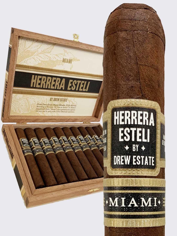 Herrera Esteli HERRERA ESTELI MIAMI CORONA 10CT. BOX