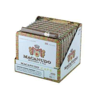 Macanudo MACANUDO CAFE GOLD ASCOT 10 10CT BOX
