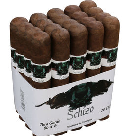 Asylum Cigars SCHIZO 52x7 single