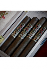 THE OPUS X STORY 4CT. Cigars + Blue Humidor BOX