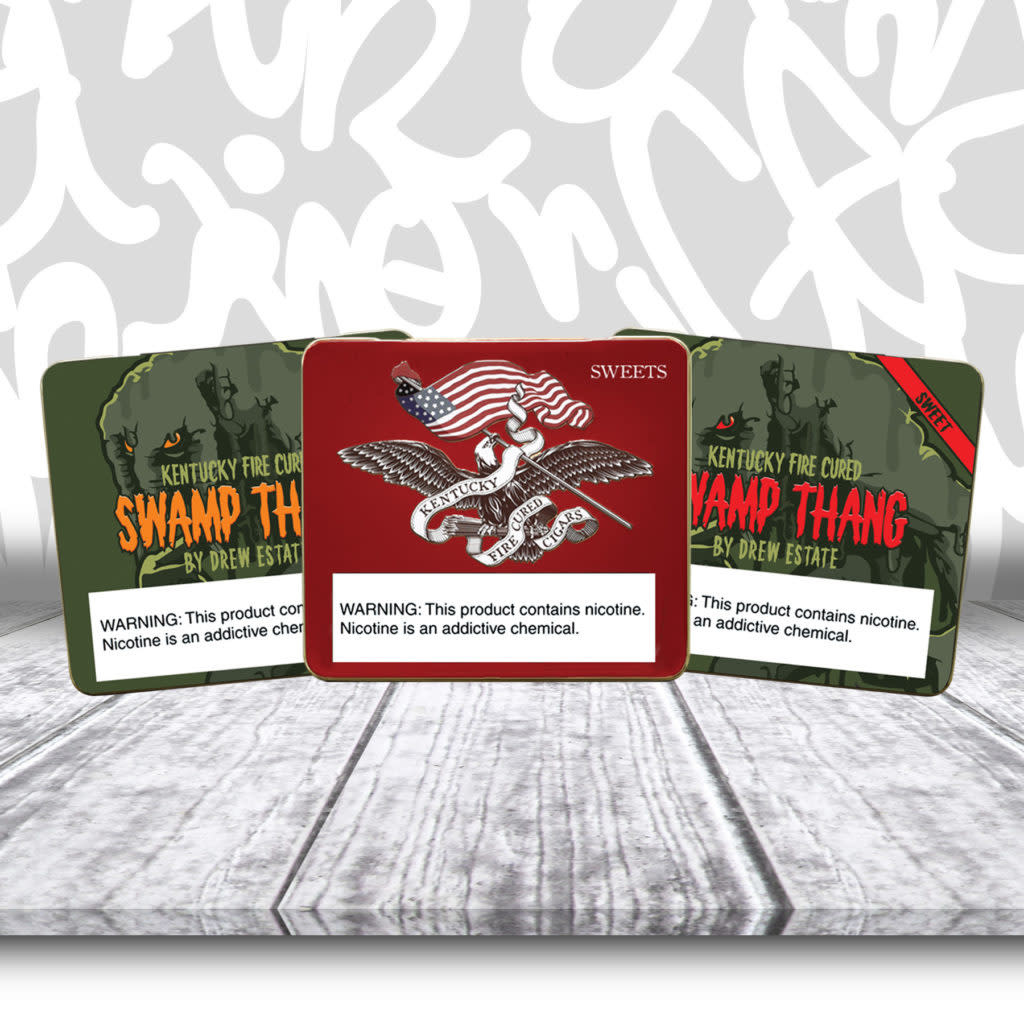 Undercrown UNDERCROWN KENTUCKY FIRE CURED SWAMP THANG TINS 5CT. BOX
