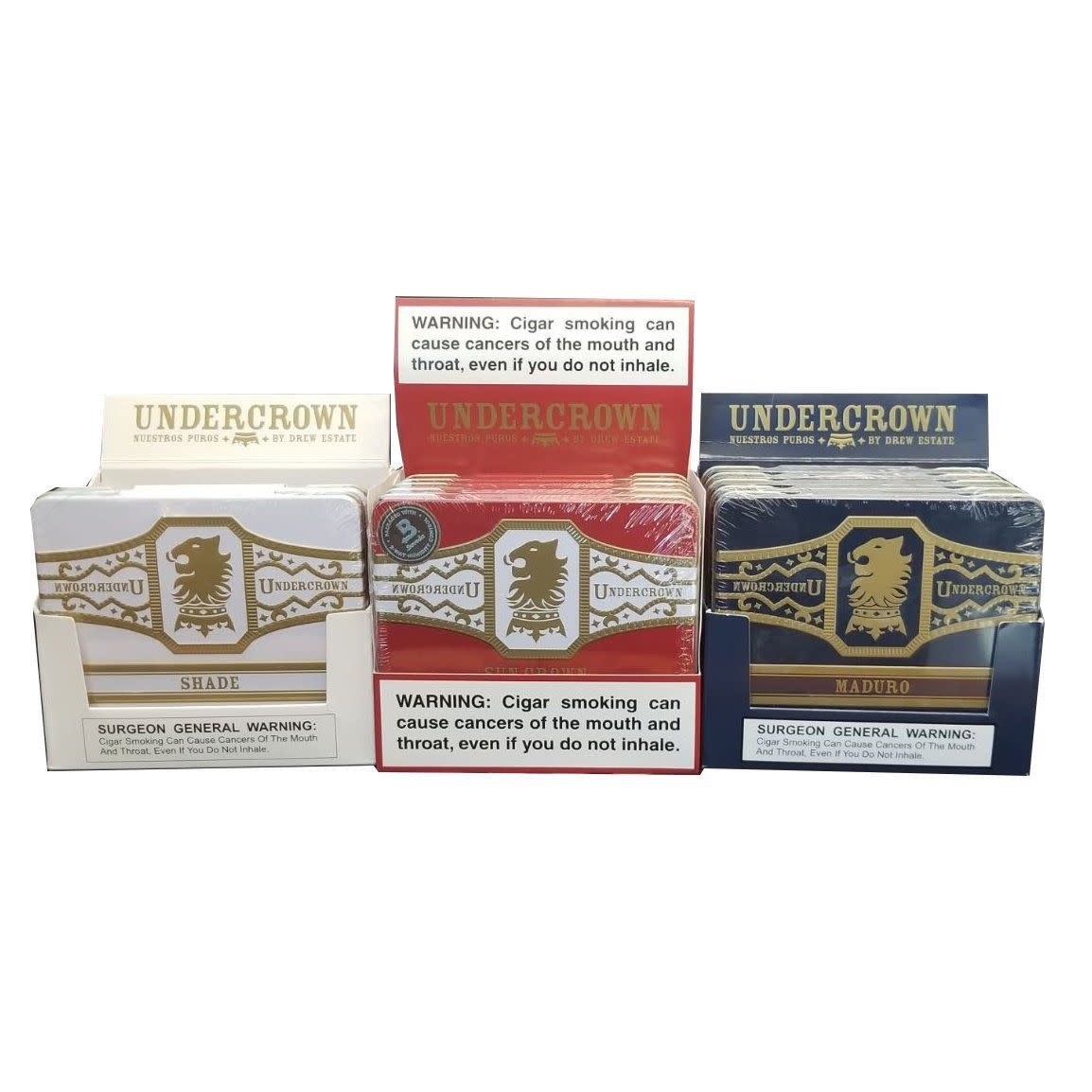 Undercrown UNDERCROWN SHADE TINS 5CT. BOX