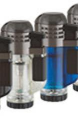 XIKAR INC. XIKAR 526BL TECH TRIPLE LIGHTER BLUE