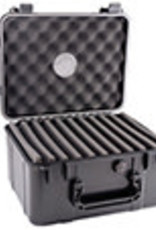 XIKAR INC. XIKAR 60ct. BLACK 280XI TRAVEL CASE HUMIDOR