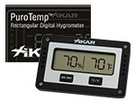 XIKAR INC. xikar HYGROMETER - NEW DESIGN XIKAR RECTANGULAR DIGITA