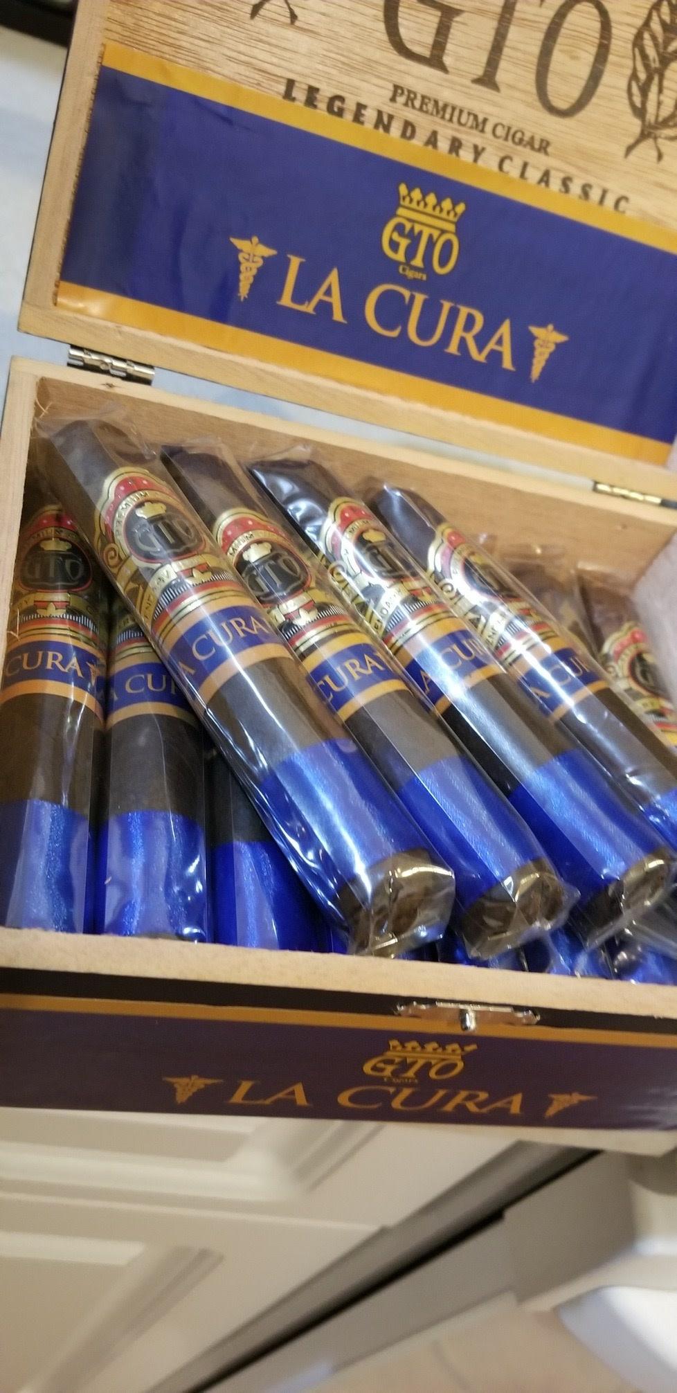 GTO CIGAR CO. GTO La Cura Maduro Robusto 5x52 Blue 24CT BOX