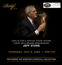 DAVIDOFF OF GENEVA (CT) INC. Davidoff Virtual Event Ticket $50 Thursday July 9th 2020