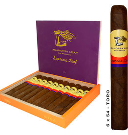 Aganorsa AGANORSA Supreme Leaf Toro 6x54 Box Press 10CT. BOX