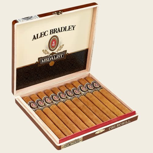 Alec Bradley ALEC BRADLEY MEDALIST CHURCHILL 50X7 10CT. BOX