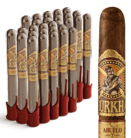 GURKHA GURKHA PRIVATE SELECT RON ABUELO 7 ANOS RUM NATURAL Toro 30CT. BOX