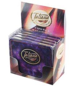 MIAMI CIGAR TATIANA GROOVY BLUE MINI TIN 5CT. BOX