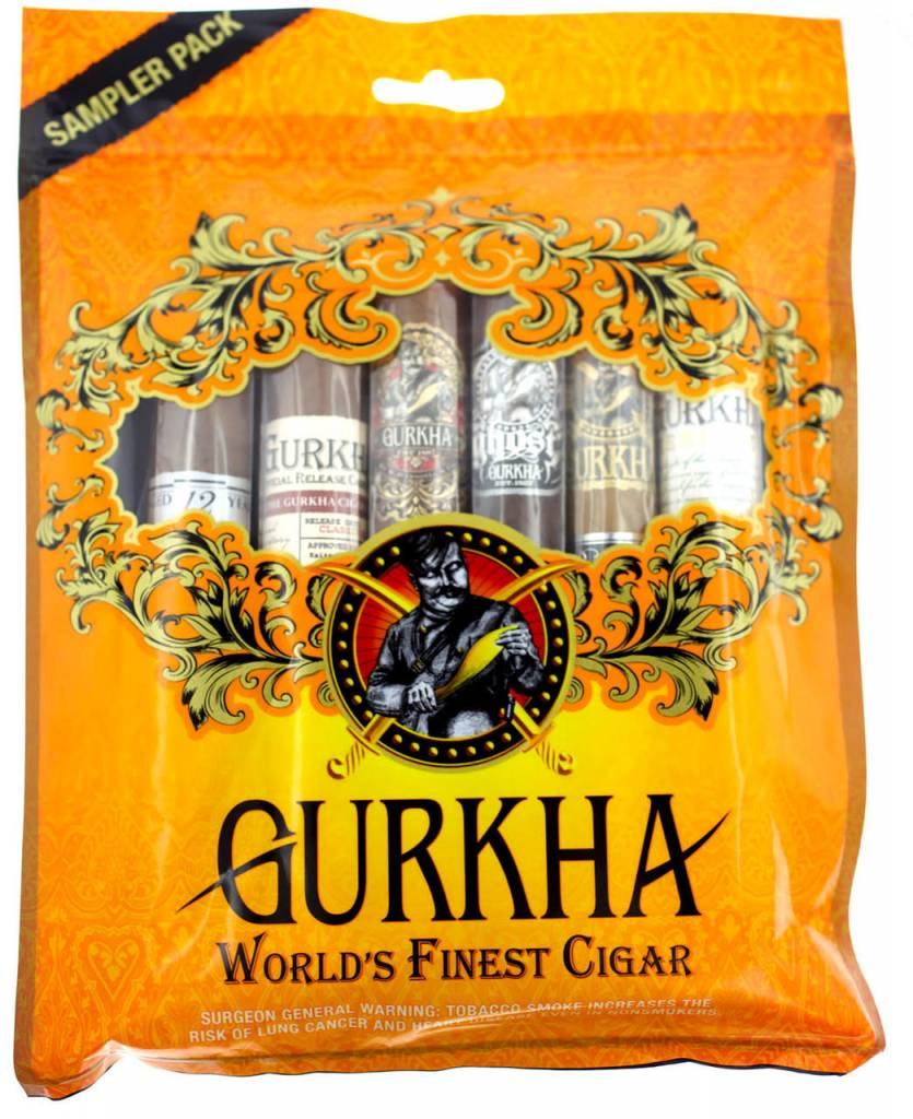 GURKHA GURKHA Orange 6CT. SAMPLER FRESH PACK