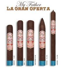 MY FATHER CIGAR My Father La Gran Oferta Lancero 7.5x38 20ct. Box