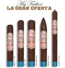 MY FATHER CIGAR My Father La Gran Oferta Torpedo 6 1/8x52 20ct. Box