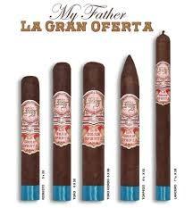 MY FATHER CIGAR My Father La Gran Oferta Torpedo 6 1/8x52 20ct. Box