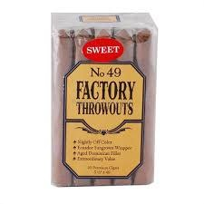 J.C. NEWMAN JC Newman Factory Throwouts Sweet #49 Robusto 5.5x49 20ct. box bundle