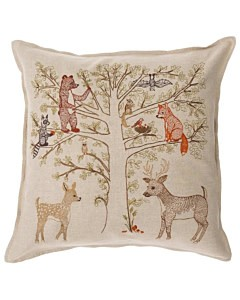 Coral & Tusk Woodland Living Tree Pillow