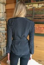 The Birch Store Dottie Slim Wrap Shirt