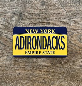 The Birch Store Adirondack License Magnet