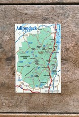Maine Illustrated ADK Map Magnet