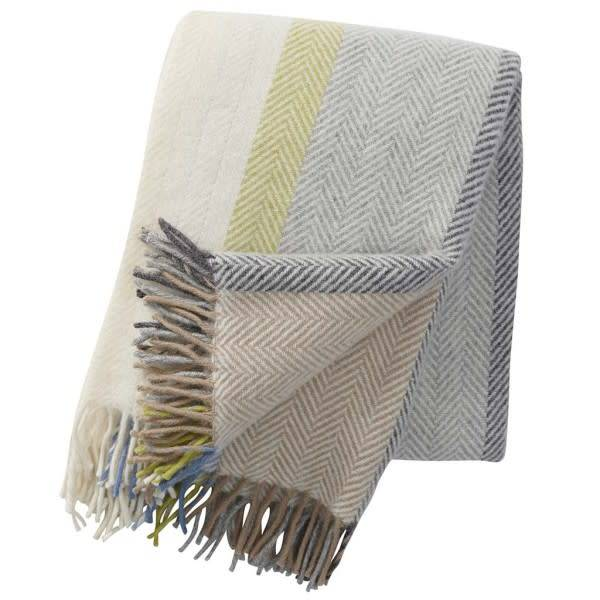 Klippan/Cose Nuove Klippan Textiles Birka Natural Throw